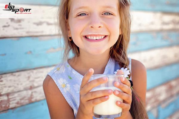 cách tăng cân bằng sữa tươi