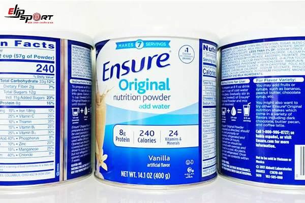 cách uống sữa ensure tăng cân hiệu quả