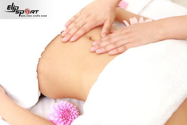 Loại bỏ mỡ bụng nhanh chóng nhờ massage