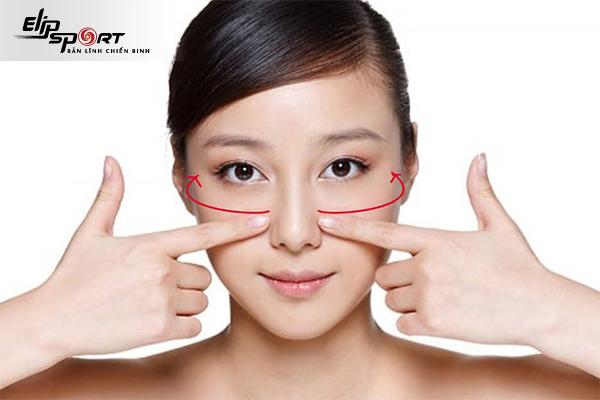 phương pháp massage mặt