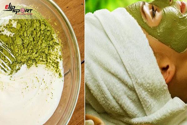 tác dụng của mặt nạ trà xanh sữa tươi