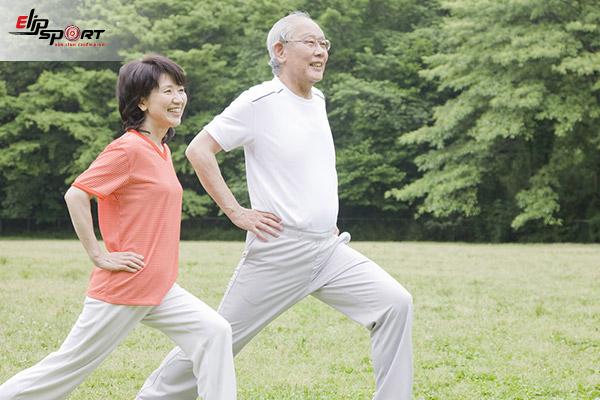 tập gym cho người cao tuổi