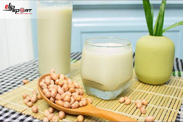 uống sữa đậu phộng có tăng cân không