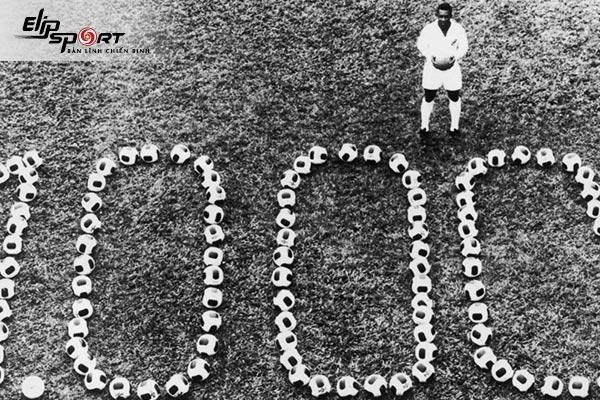 Số bàn thắng của Pele trong sự nghiệp tại Santos