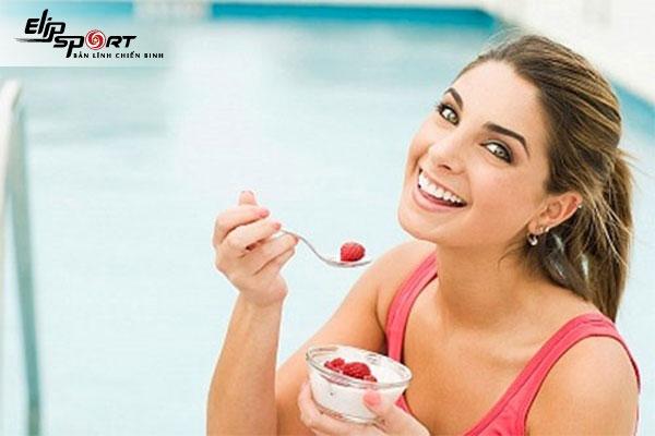 Ăn sữa chua nha đam không đường có tăng cân không