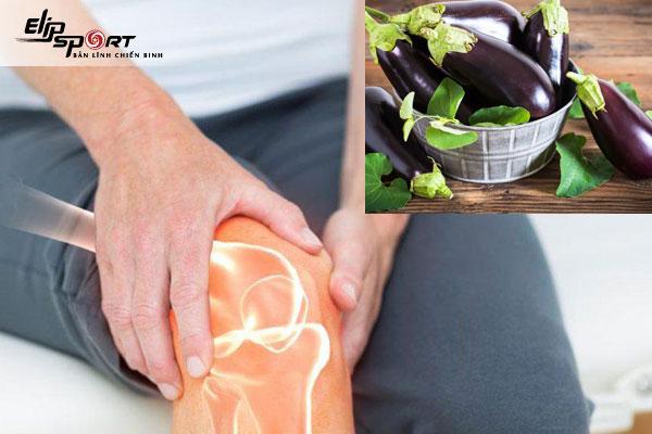 bệnh xương khớp có ăn được cà tím không
