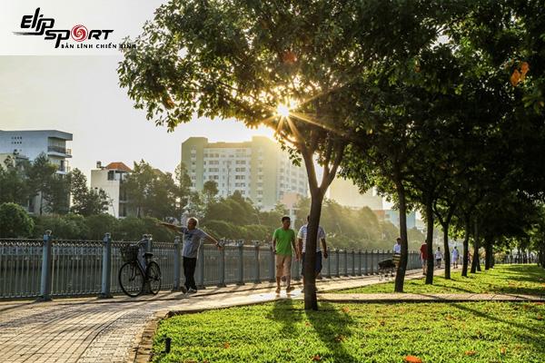 Chạy Bộ Chỗ Nào Đẹp Ở Sài Gòn