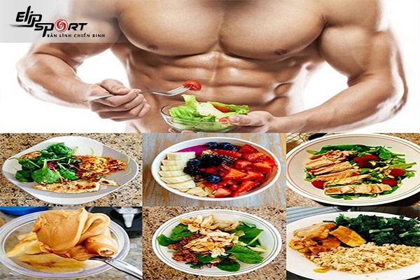 tập gym ăn gì để tăng cân