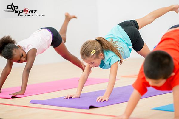 yoga cho bé