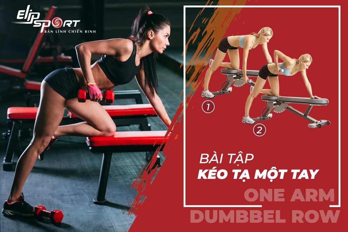 bài tập gym lưng xô cho nữ
