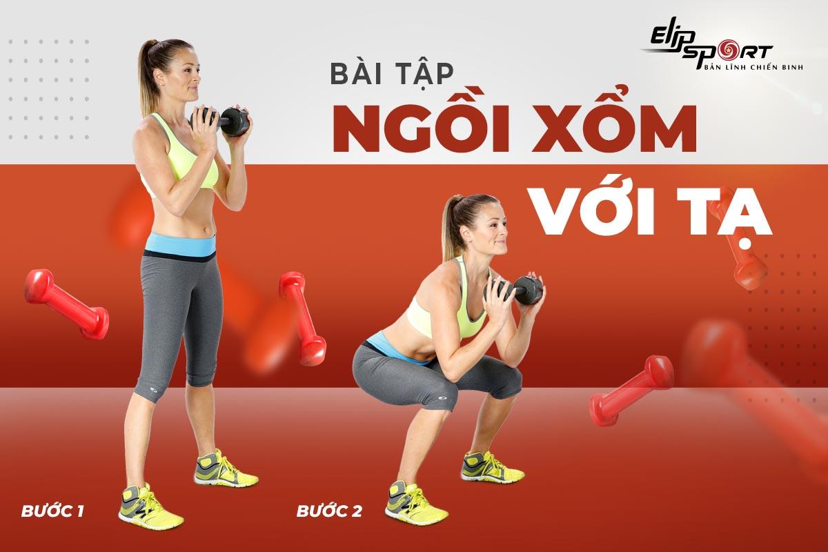 bài tập luyện cơ chân