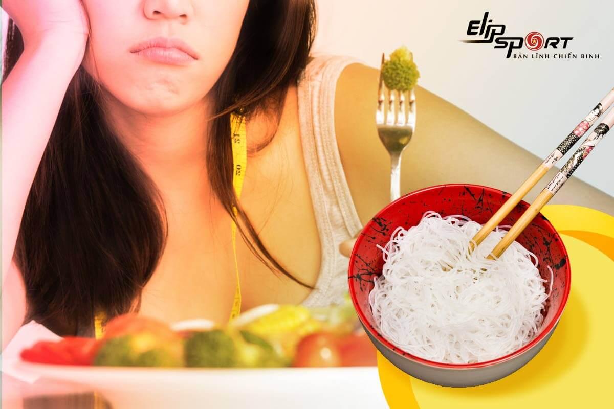 ăn bún có giảm cân được không
