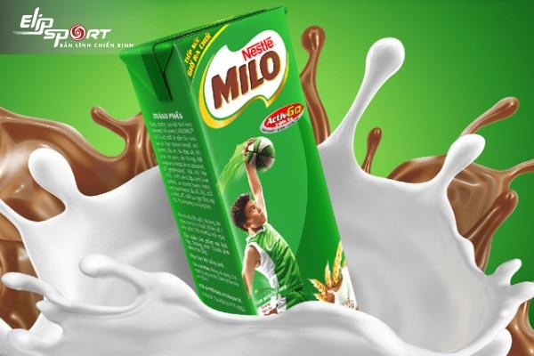 uống sữa milo dậy thì sớm