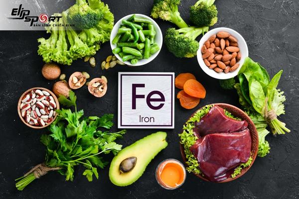 chất sắt đóng vai trò gì trong cơ thể
