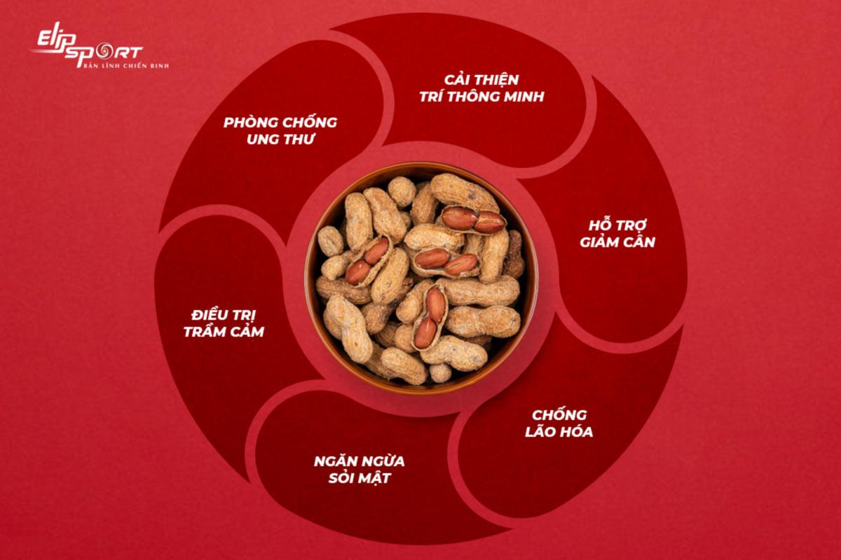 ăn đậu phộng rang có tăng cân không
