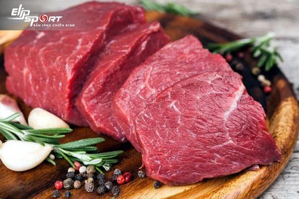 Ăn thịt bò có tác dụng gì