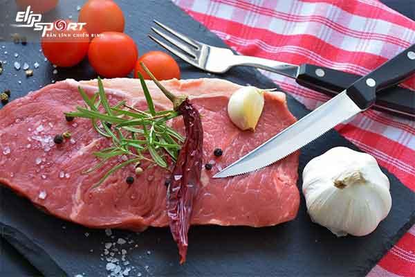 sinh mổ ăn thịt bò được không