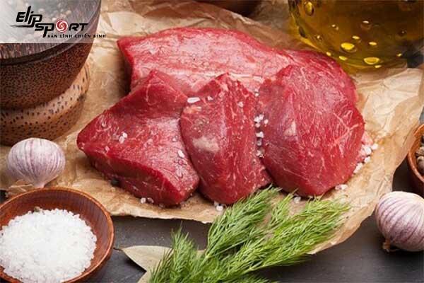 tác dụng của thịt bò đối với nam giới