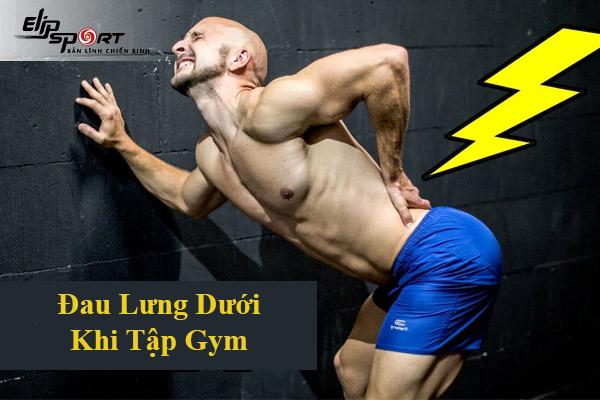 chấn thương lưng dưới khi tập gym