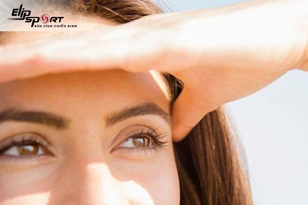 bài tập cho mắt cận