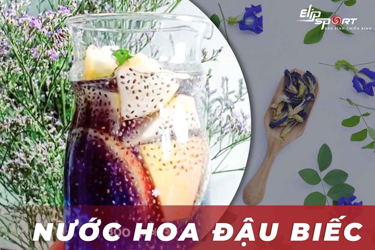 nước hoa đậu biếc giảm cân