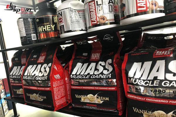 không tập gym có nên uống mass