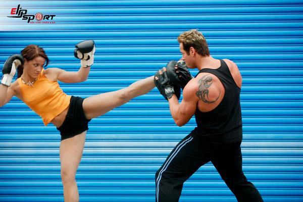tập kick boxing tại nhà