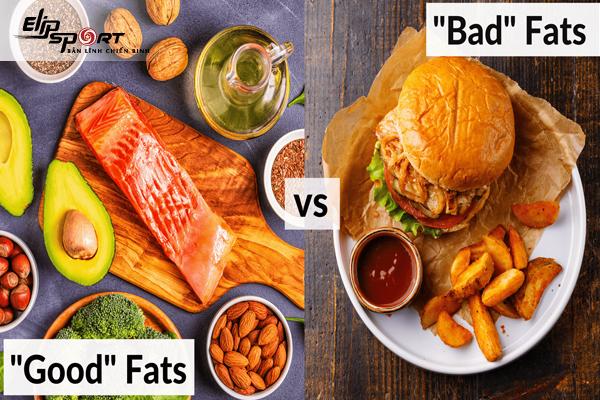 chất béo xấu có trong thực phẩm nào