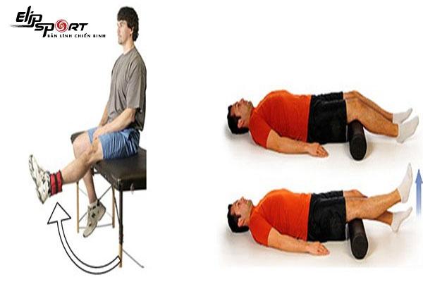 bài tập phục hồi giãn dây chằng đầu gối