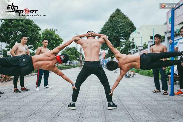 tập street workout