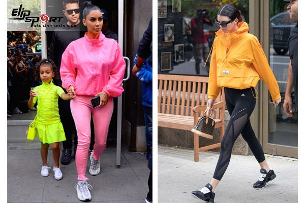 phong cách thể thao nữ