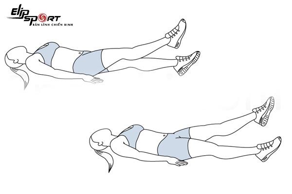 bài tập siết cơ bụng