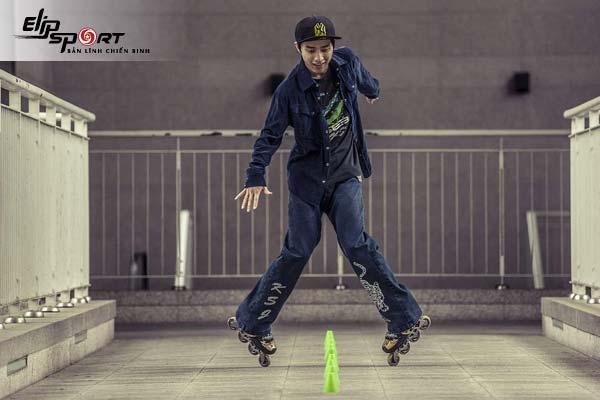 cách trượt patin