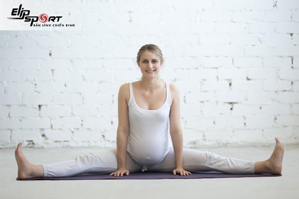 bài tập thể dục cho bà bầu 3 tháng cuối