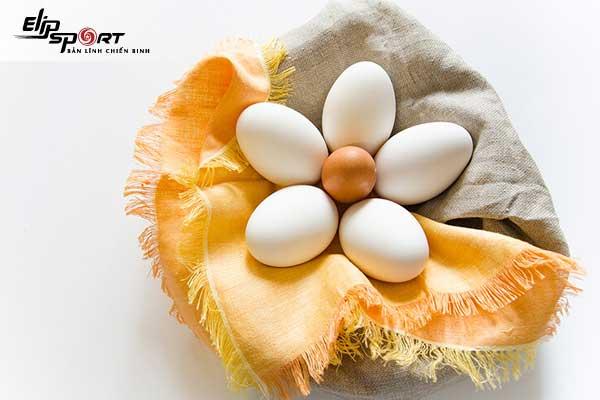 bầu ăn trứng ngỗng