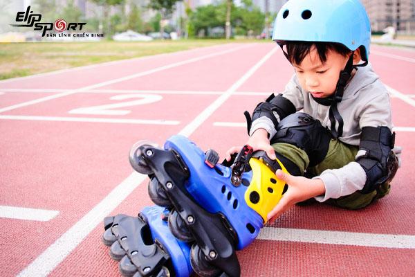 hướng dẫn trượt patin cho trẻ em