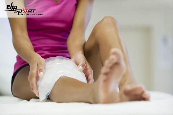 đau cơ khi tập gym