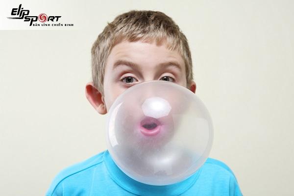 nhai kẹo cao su nhiều có tốt không
