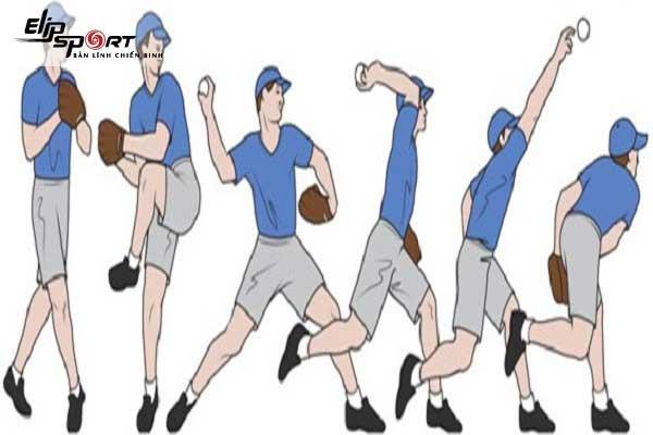 cách ném bóng chày