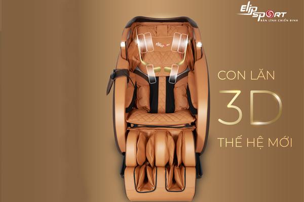 Con lăn trên ghế massage toàn thân có tác dụng gì