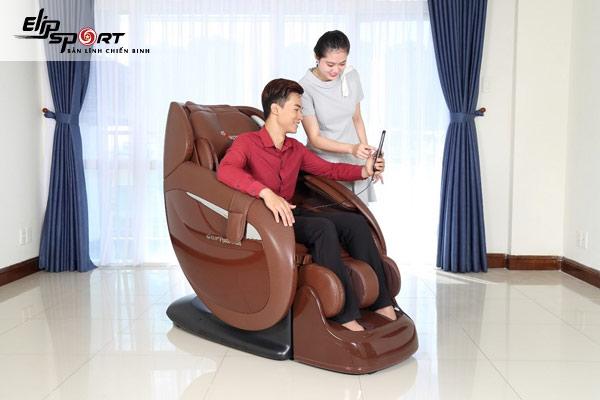 ghế massage cho người thoát vị đĩa đệm