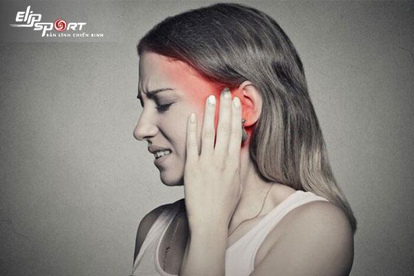 lỗ tai bị nghẹt