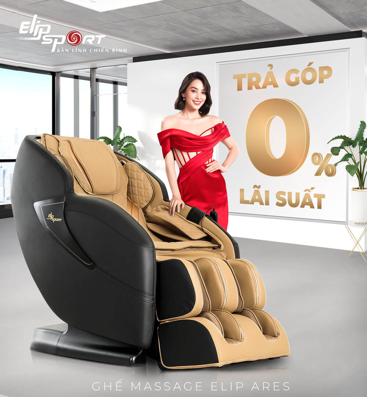 ghế massage ELIP Ares