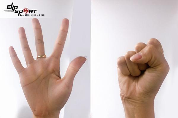 cách tăng chiều dài ngón tay
