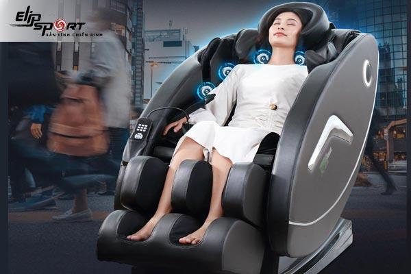 Làm thế nào để thư giãn sau khi làm việc bằng ghế massage?
