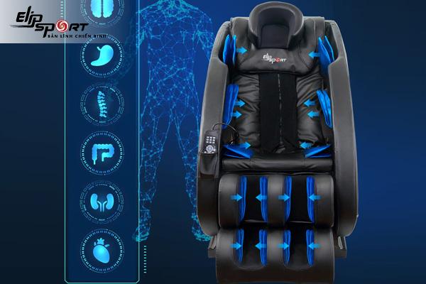 Điểm danh những công nghệ trên ghế massage toàn thân mới nhất hiện nay