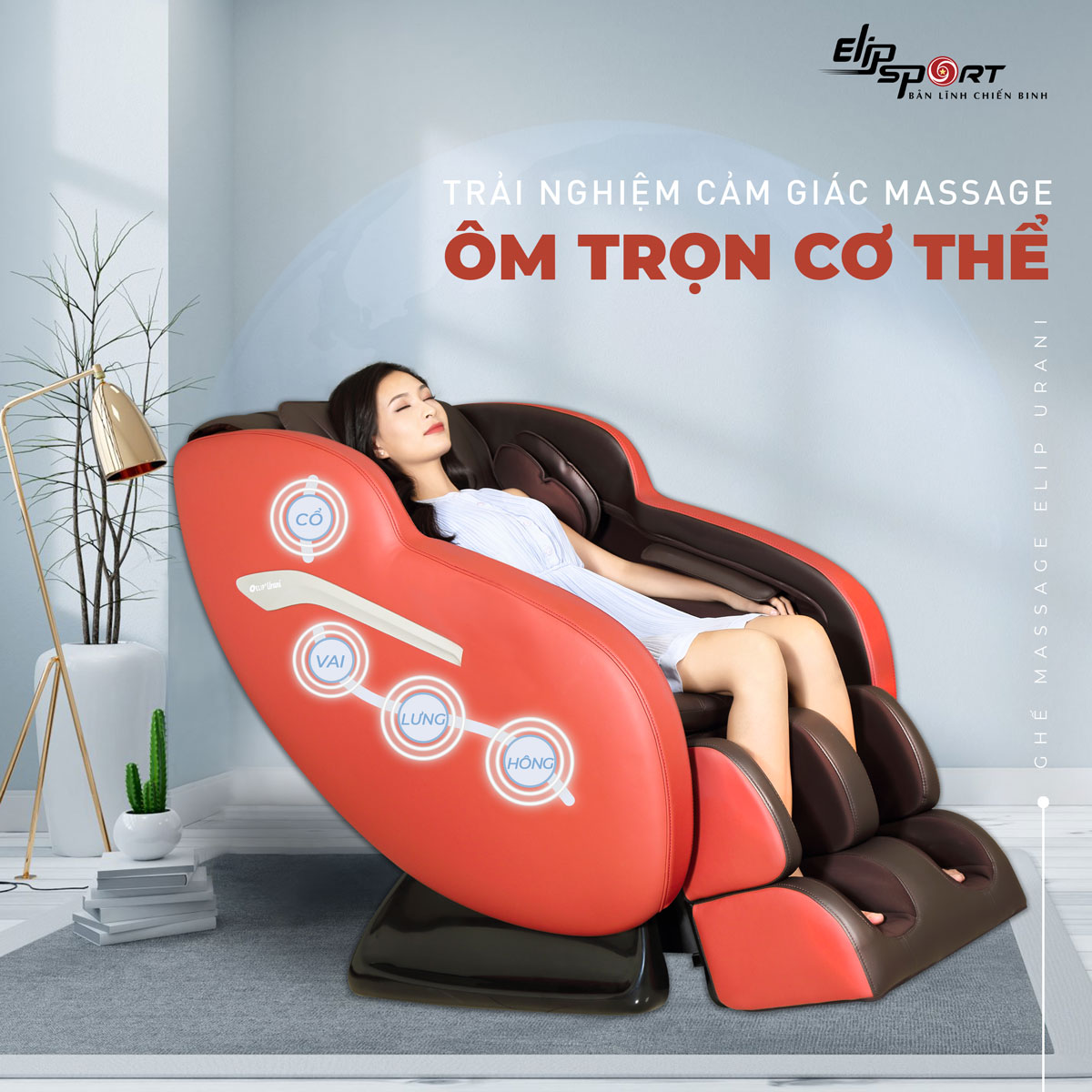 túi khí ghế massage
