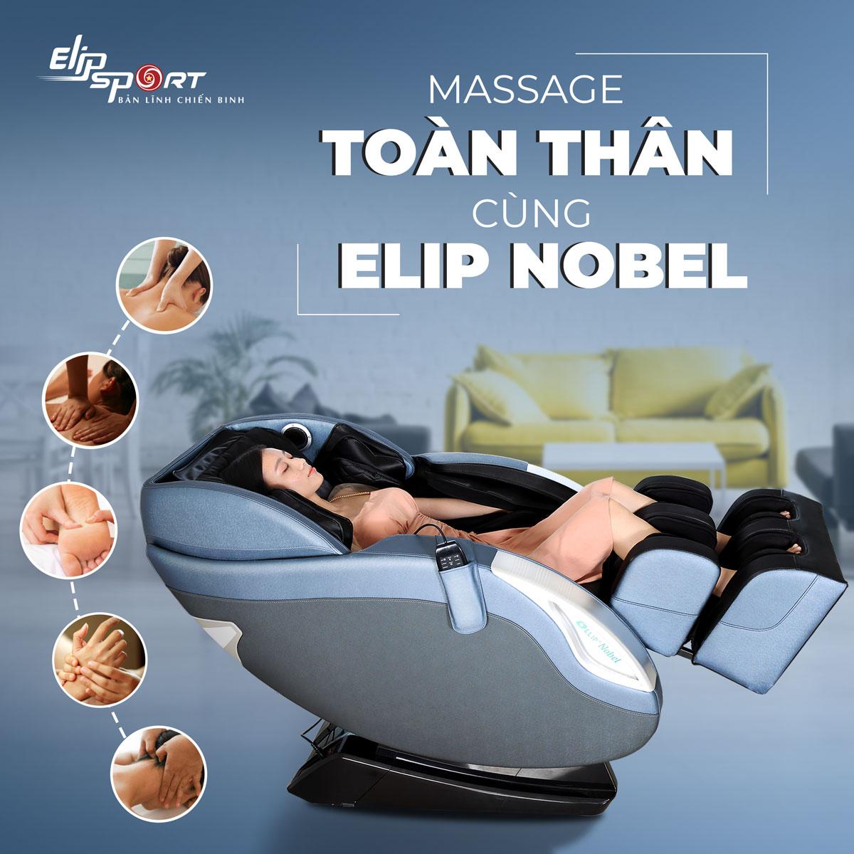 Cách sử dụng remote và các chương trình cài đặt sẵn trên ghế massage ELIP Nobel