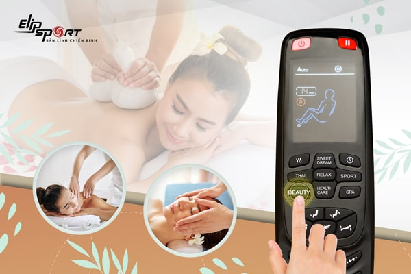 Cách sử dụng remote và các chương trình cài đặt sẵn trên ghế massage ELIP Ares
