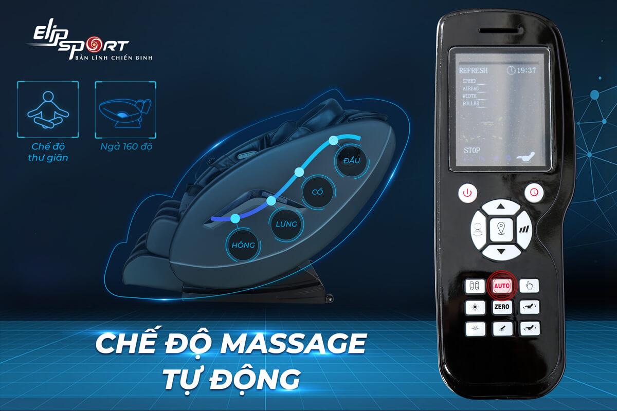 Cách sử dụng remote và các chương trình cài đặt sẵn trên ghế massage ELIP Rhodi - ảnh 4